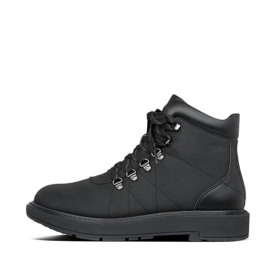 핏플랍 스칸디 부츠 FitFlop Mens Skandi Nylon-Pu Boots,All Black