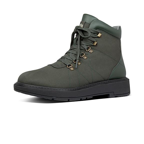핏플랍 스칸디 부츠 FitFlop Mens Skandi Nylon-Pu Boots,Forest Green