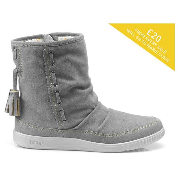 Image for Pixie - Daffodil Boots from HotterUK