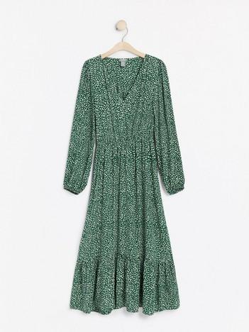 KAPPAHL klänning + satin bälte skärp dress