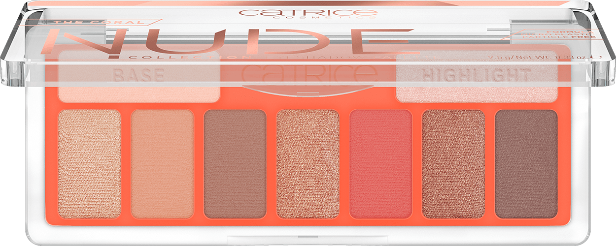 The Coral Nude Collection Eyeshadow Palette