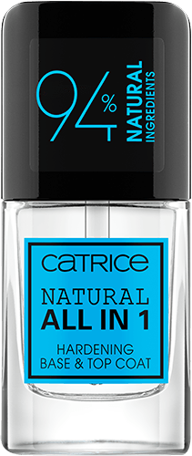 Natural All in 1 Hardening Base &Top Coat