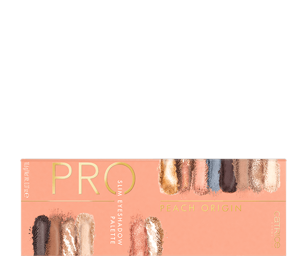 Pro Peach Origin Slim Eyeshadow Palette