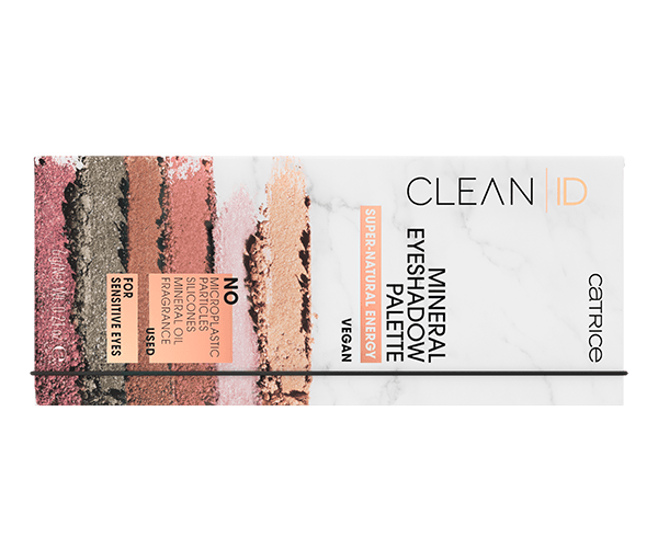 Clean ID Mineral Eyeshadow Palette Super-Natural Energy