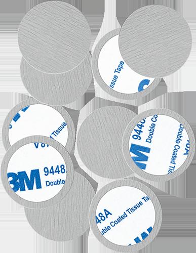 Round Metal Stickers