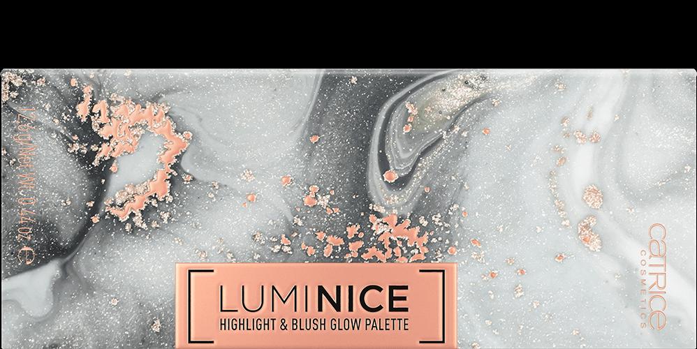Luminice Highlight & Blush Glow Palette