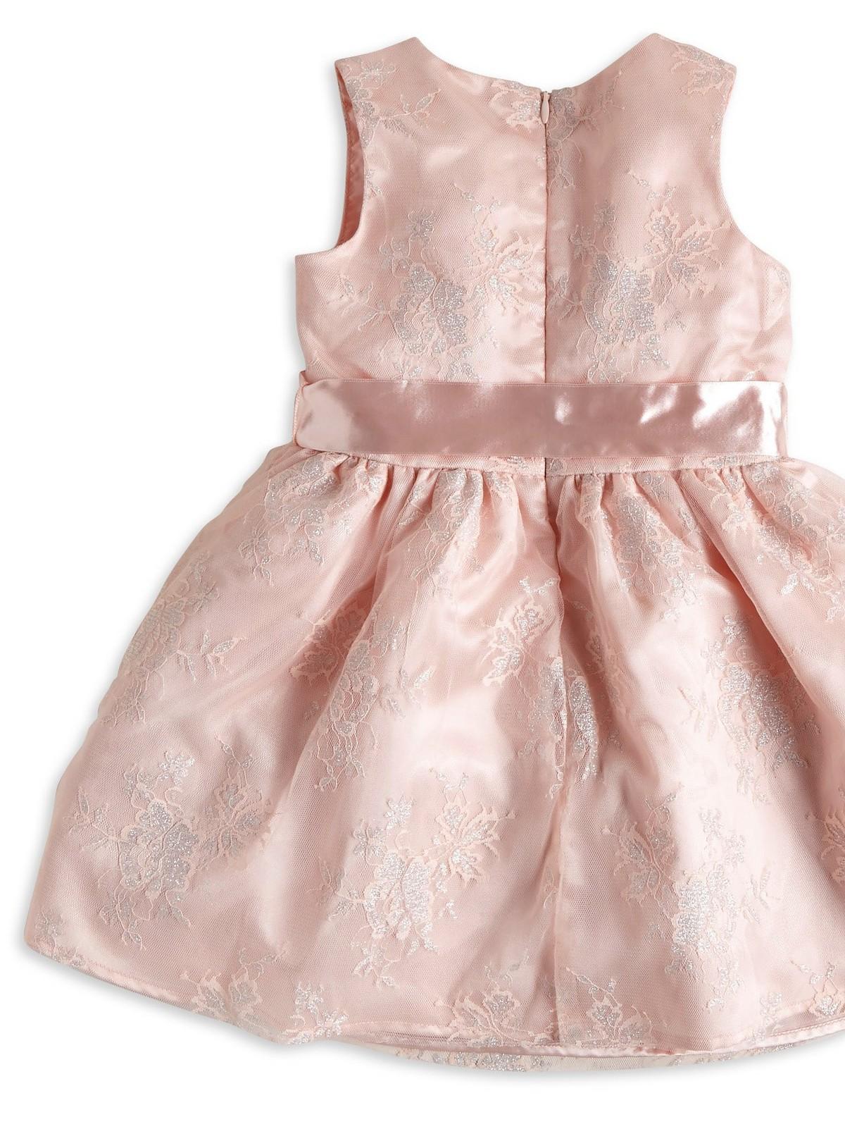 Glittrig tyllklänning   Lindex
