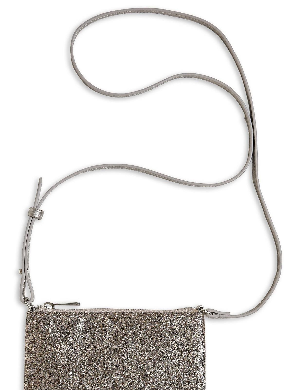 Glittrig väska