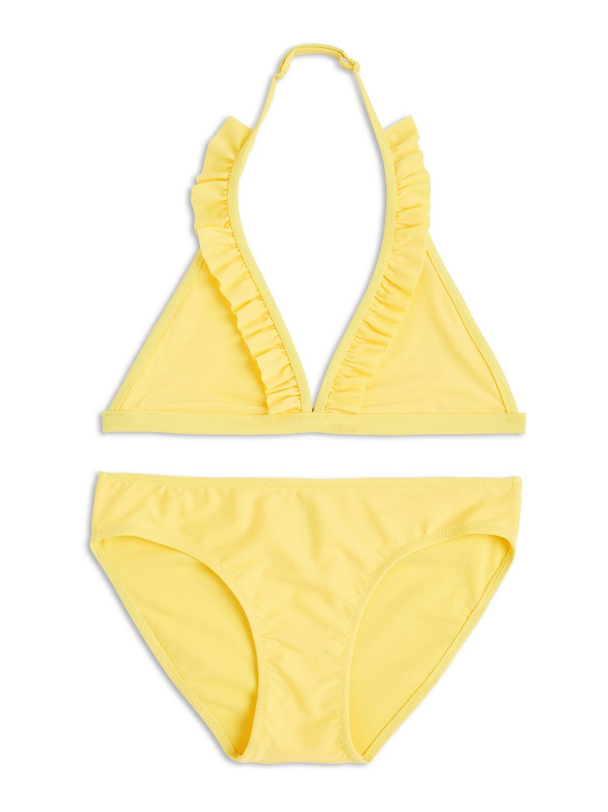 bikini med volang