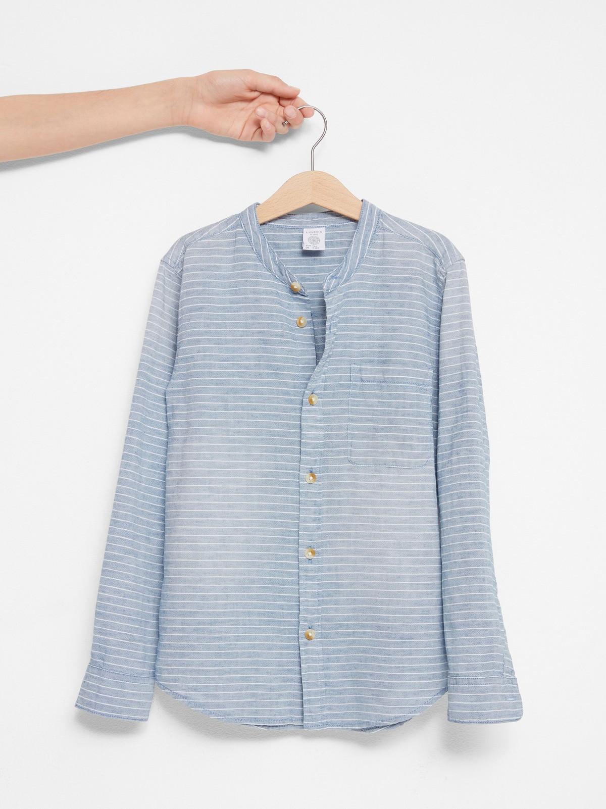 Skjorte uten krage | Lindex