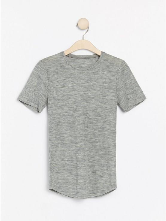 Merino Wool T-shirt | Lindex Europe