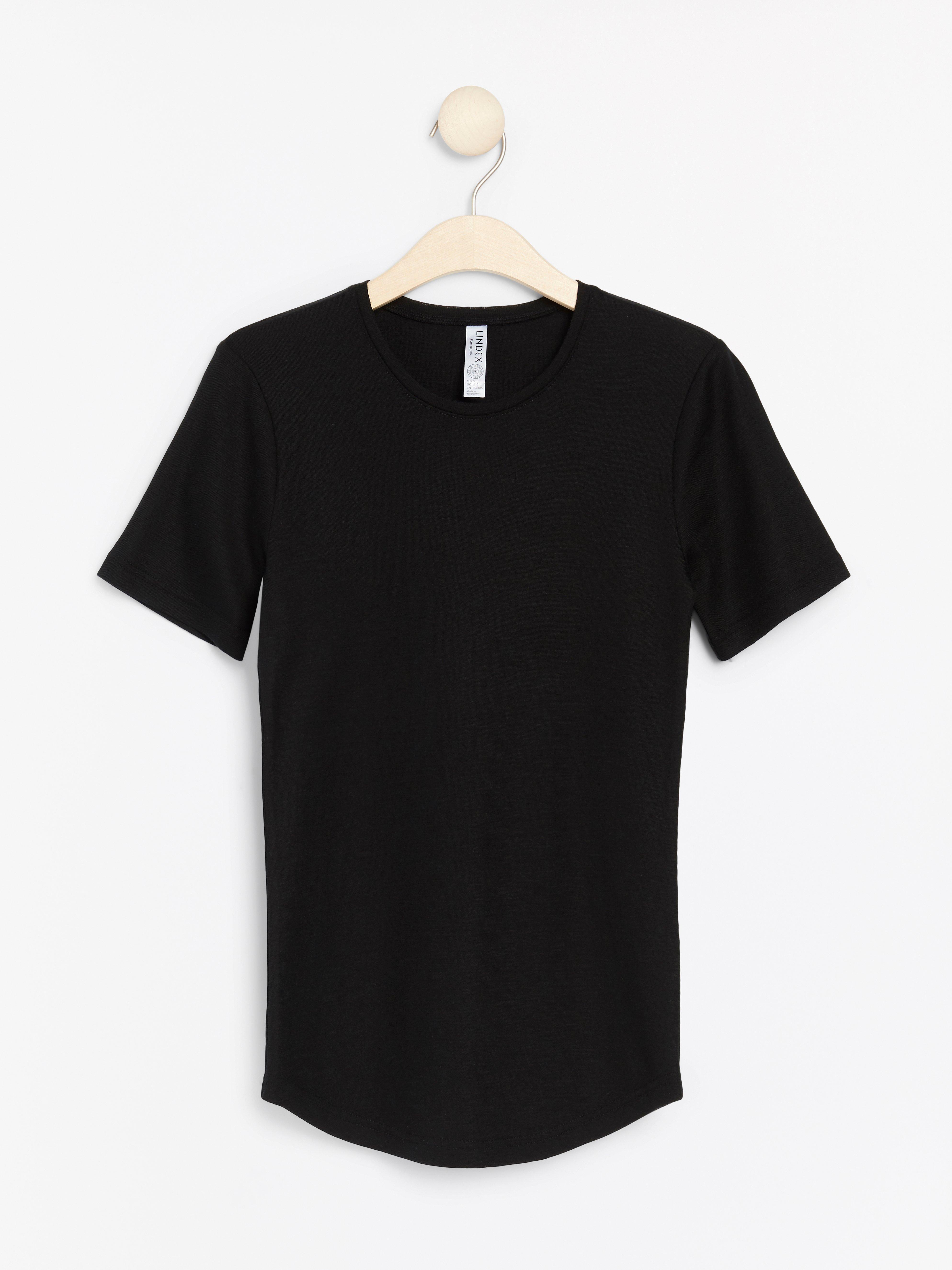 Merinovillainen t-paita
