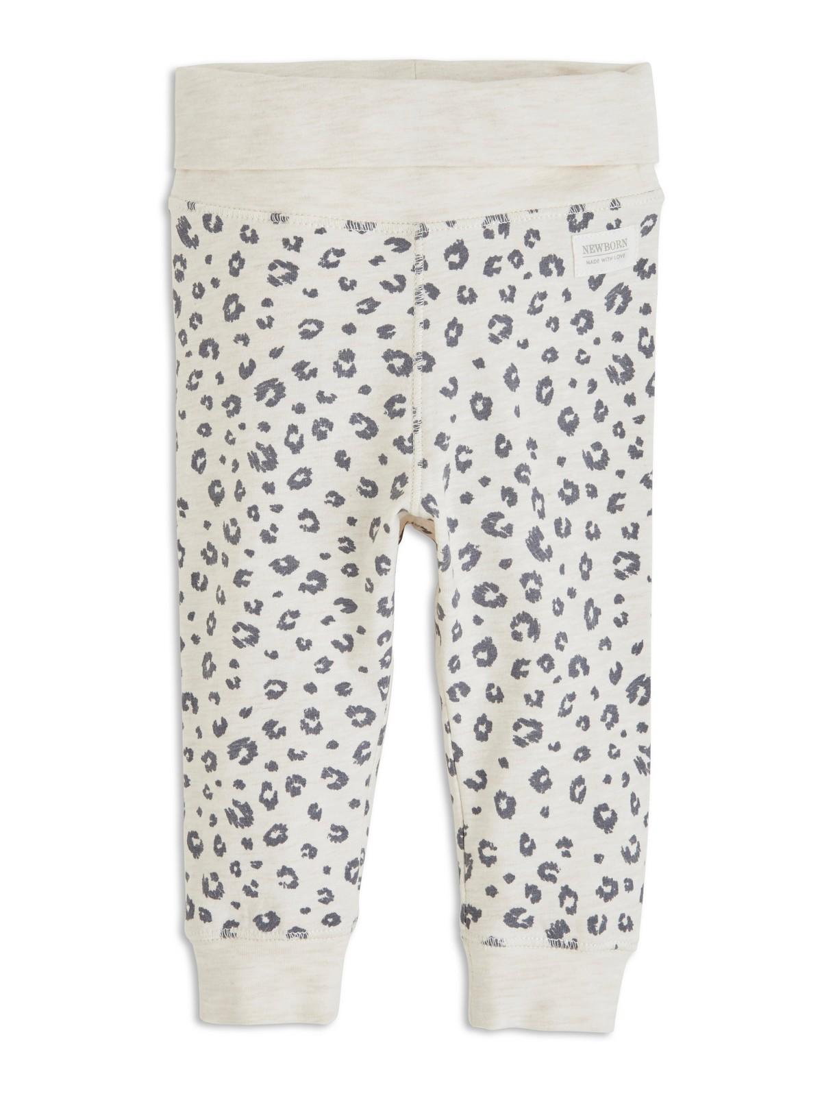Leopardmønstret bukse | Lindex