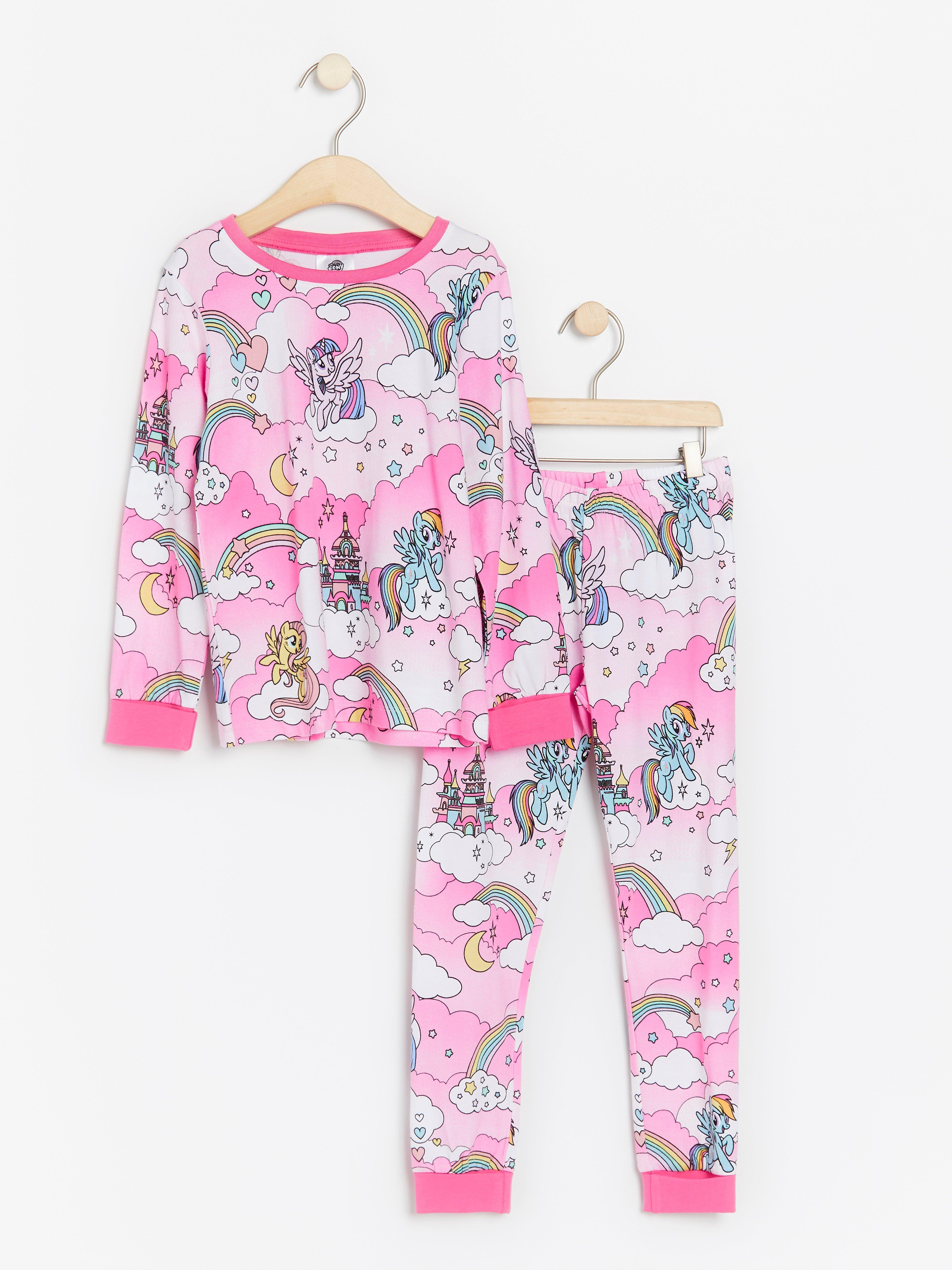 Lina Pink Baby Girls Bf.sapin.py Pyjama Set