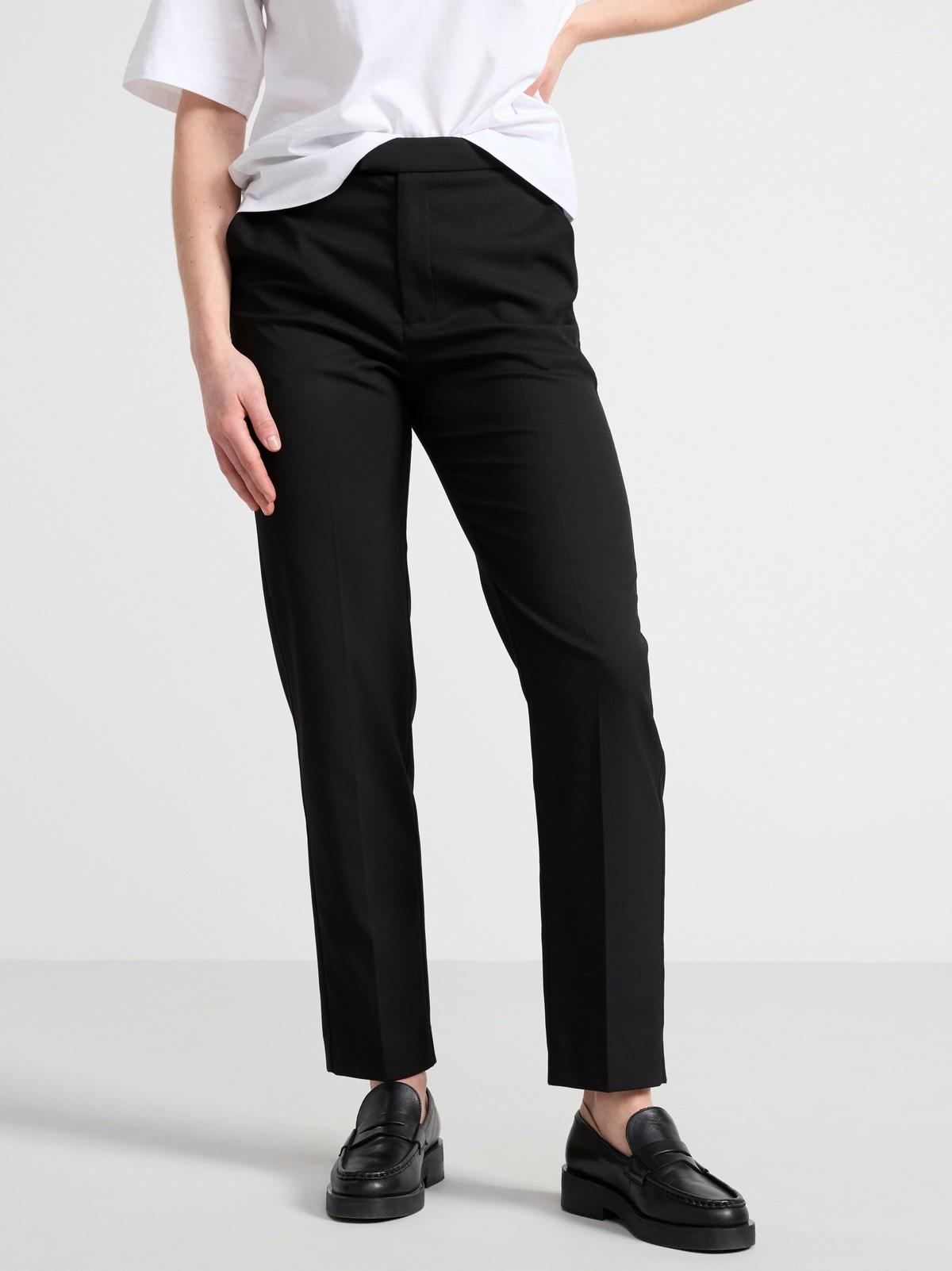 POLLY bukse med avkortede ben og høyt liv