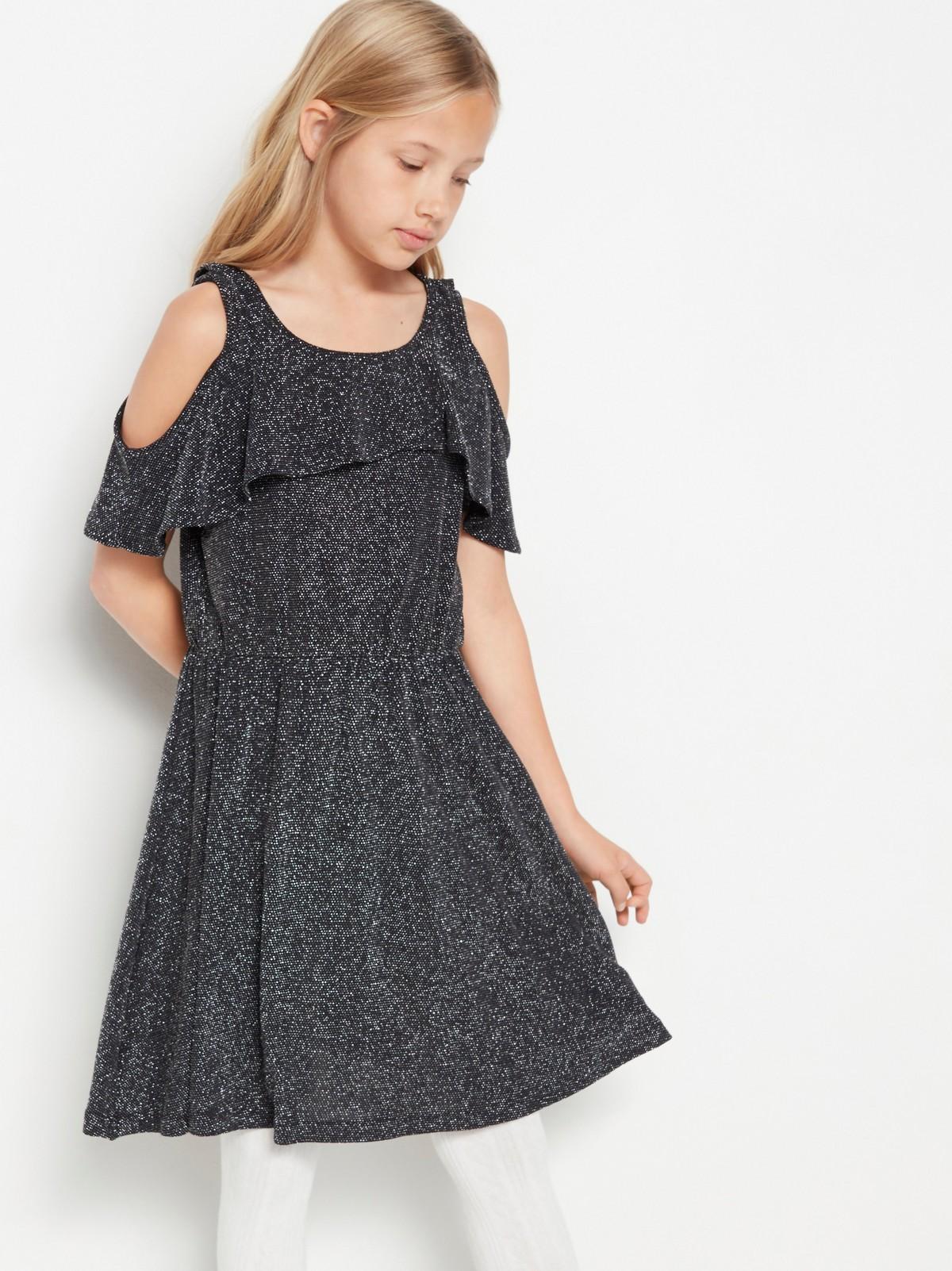 lindex glittrig klänning barn