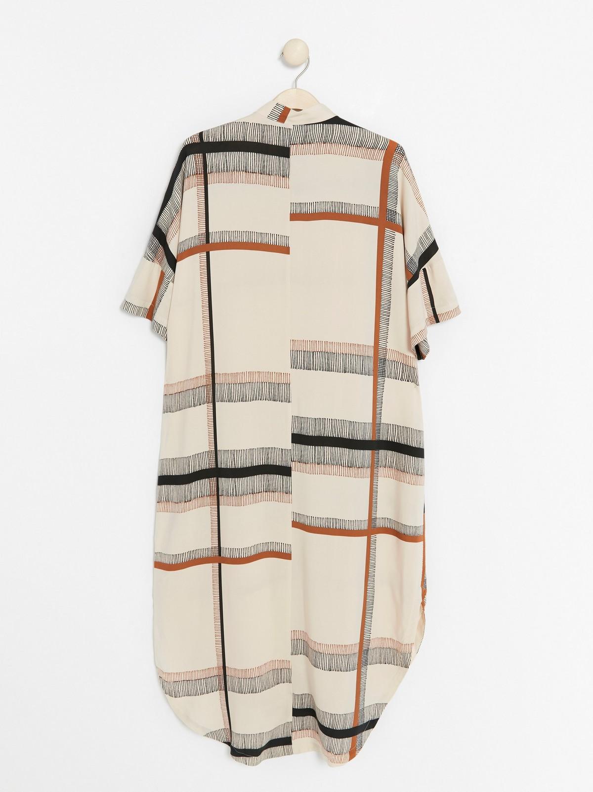 Oversized klänning i viskos | Lindex