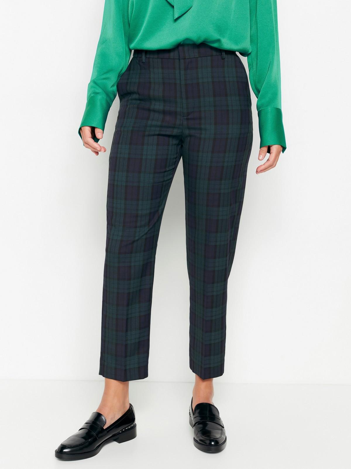 Rutet bukse | Lindex