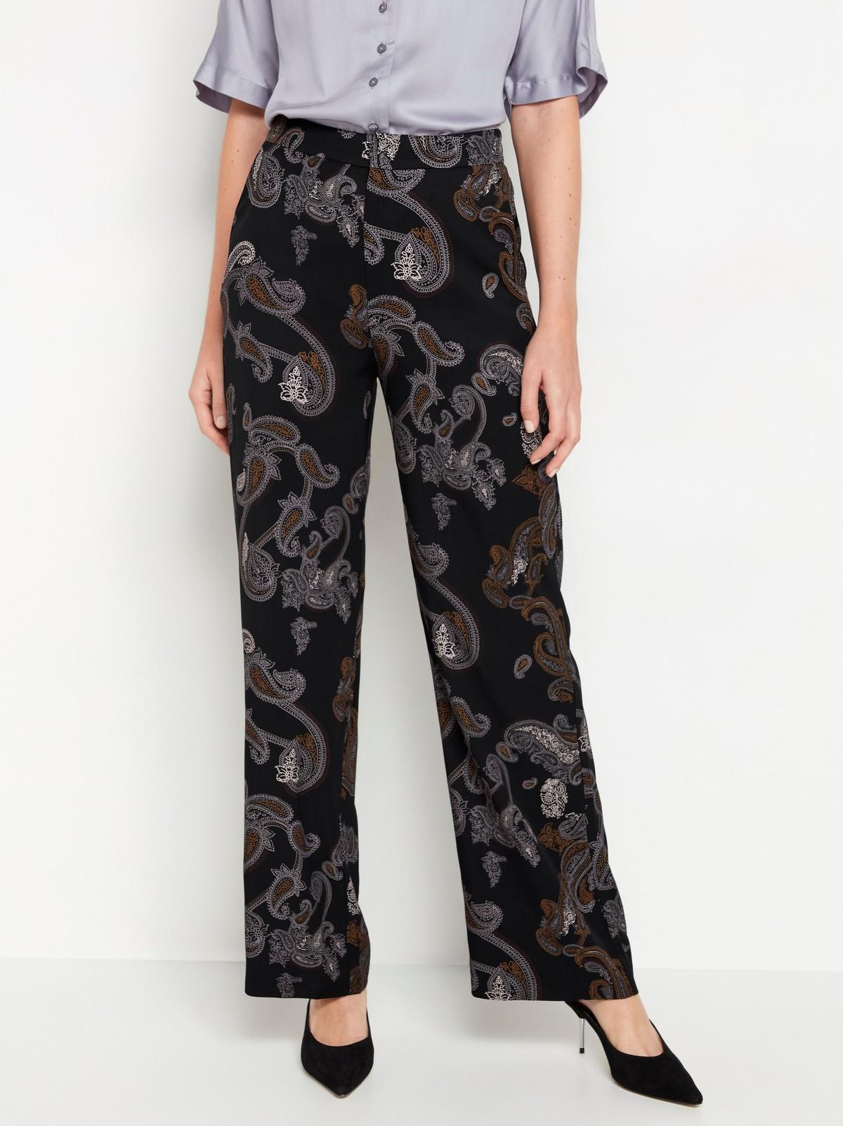 LYKKE – paisleymønstret vid bukse