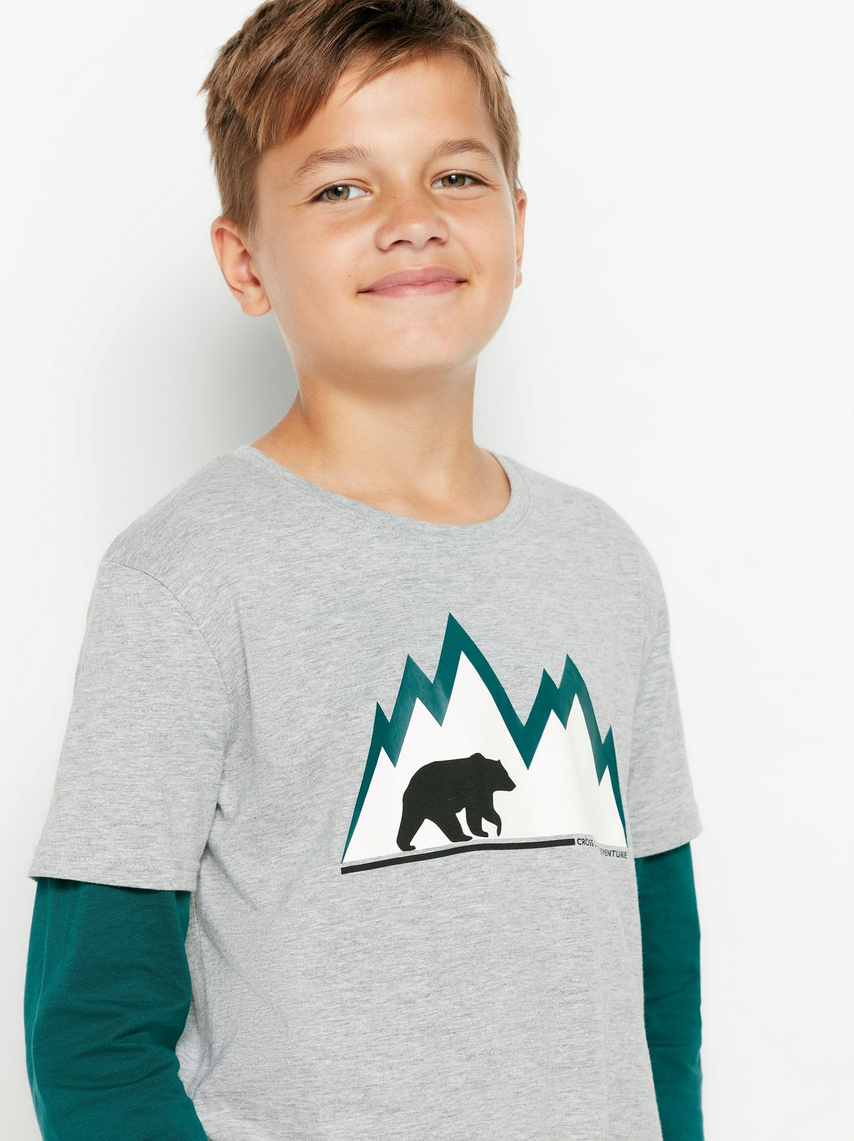 Advice From a Polar Bear T-Shirt YOUTH Large NWT