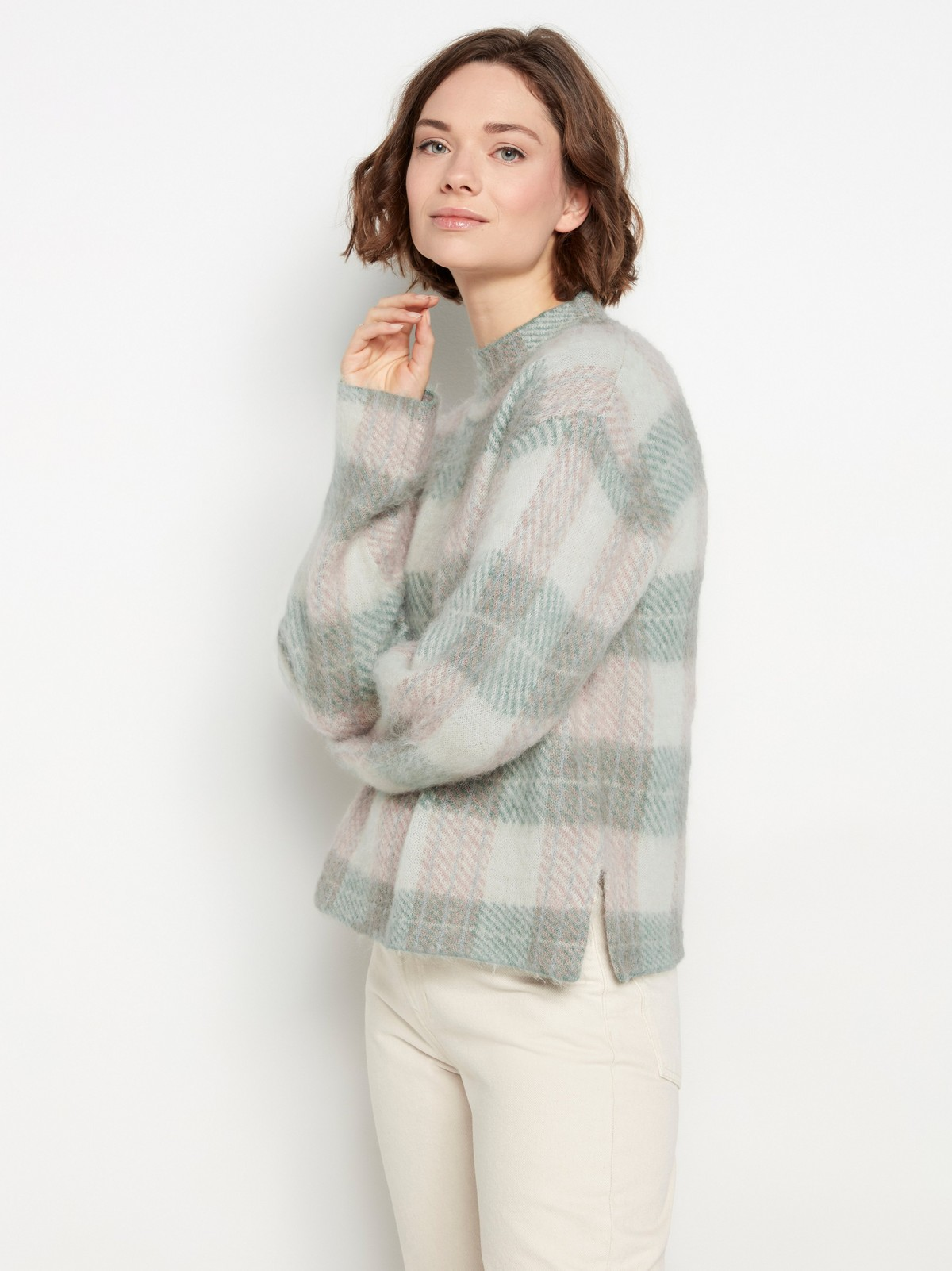 rutete genser strikk