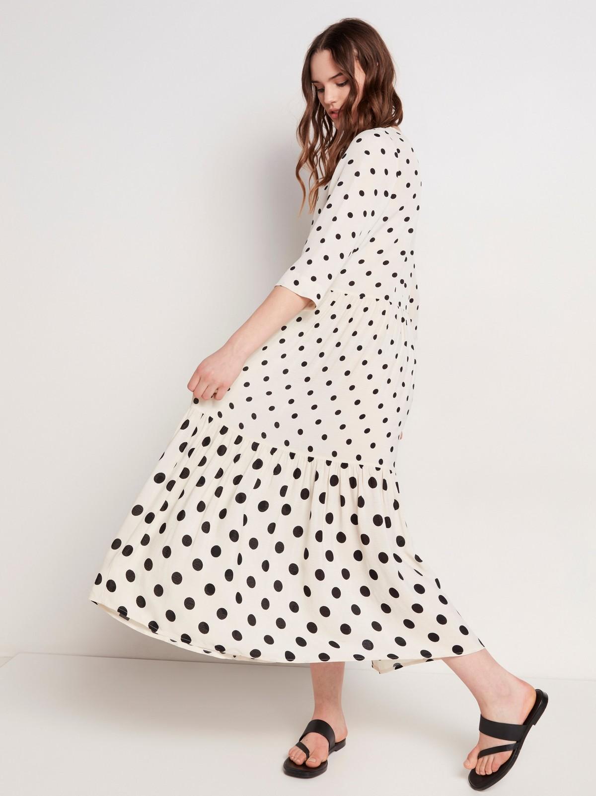 Prickig volangklänning | Lindex