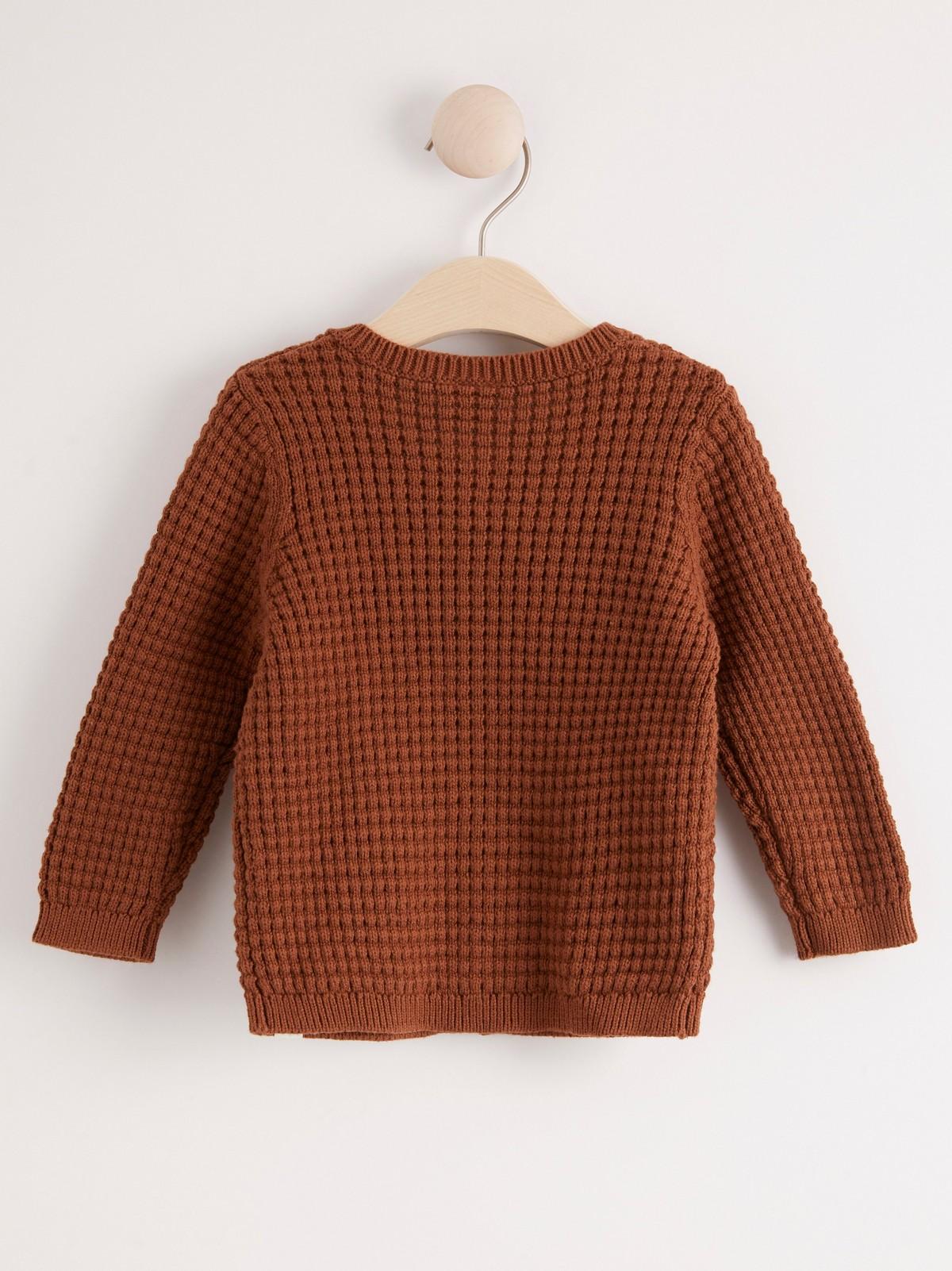 brun cardigan dam