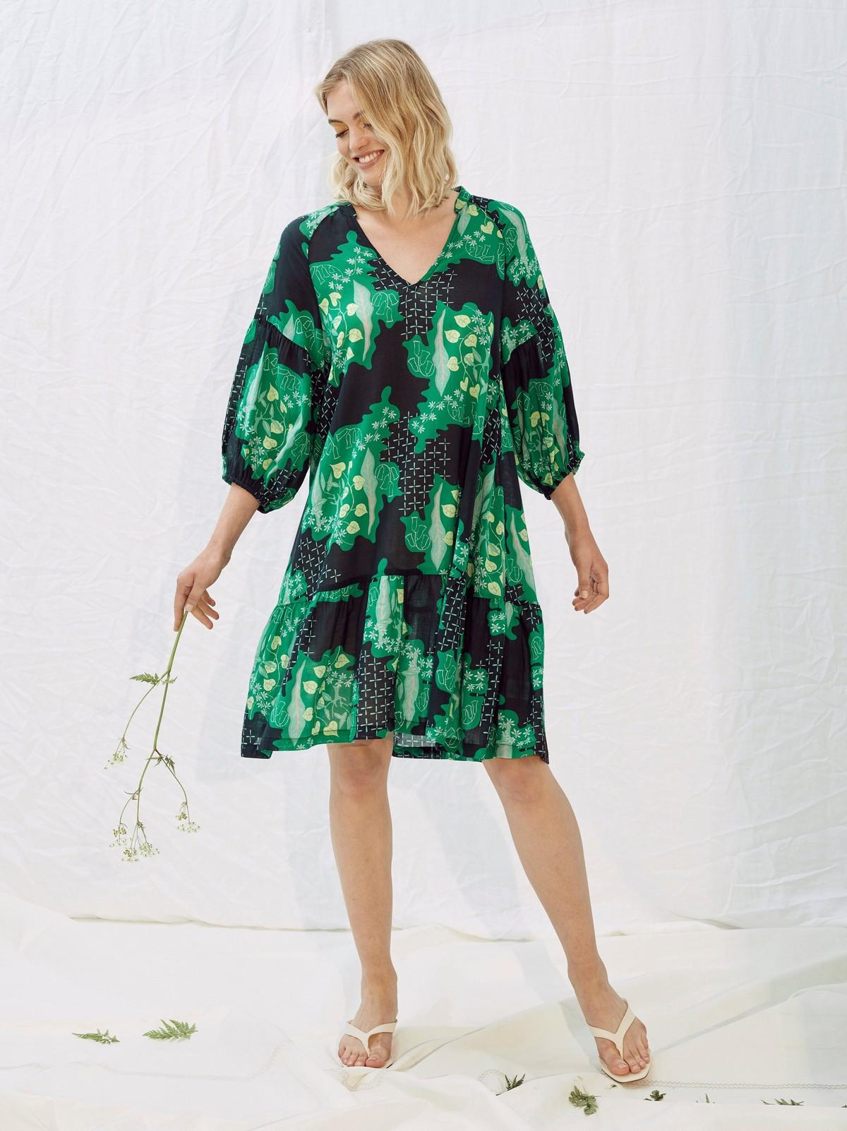 Sammetsklänning | Lindex