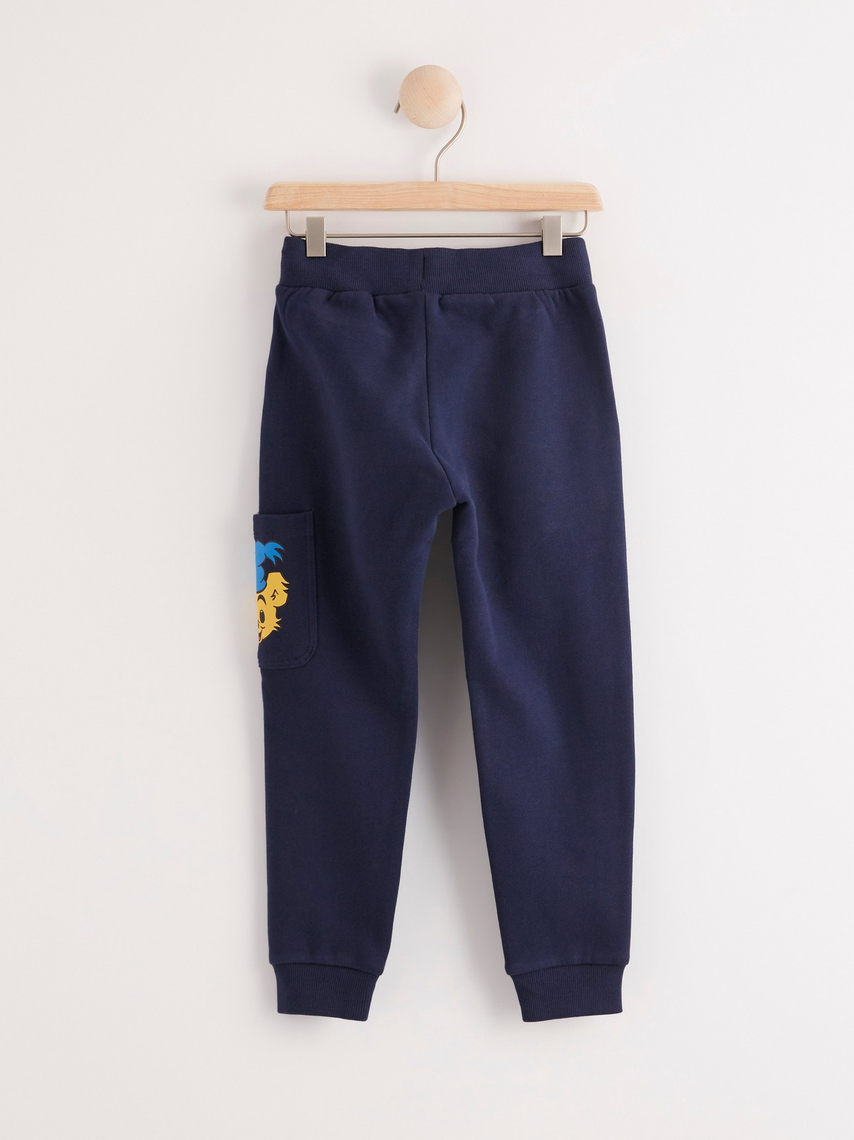 bamse blå bukser