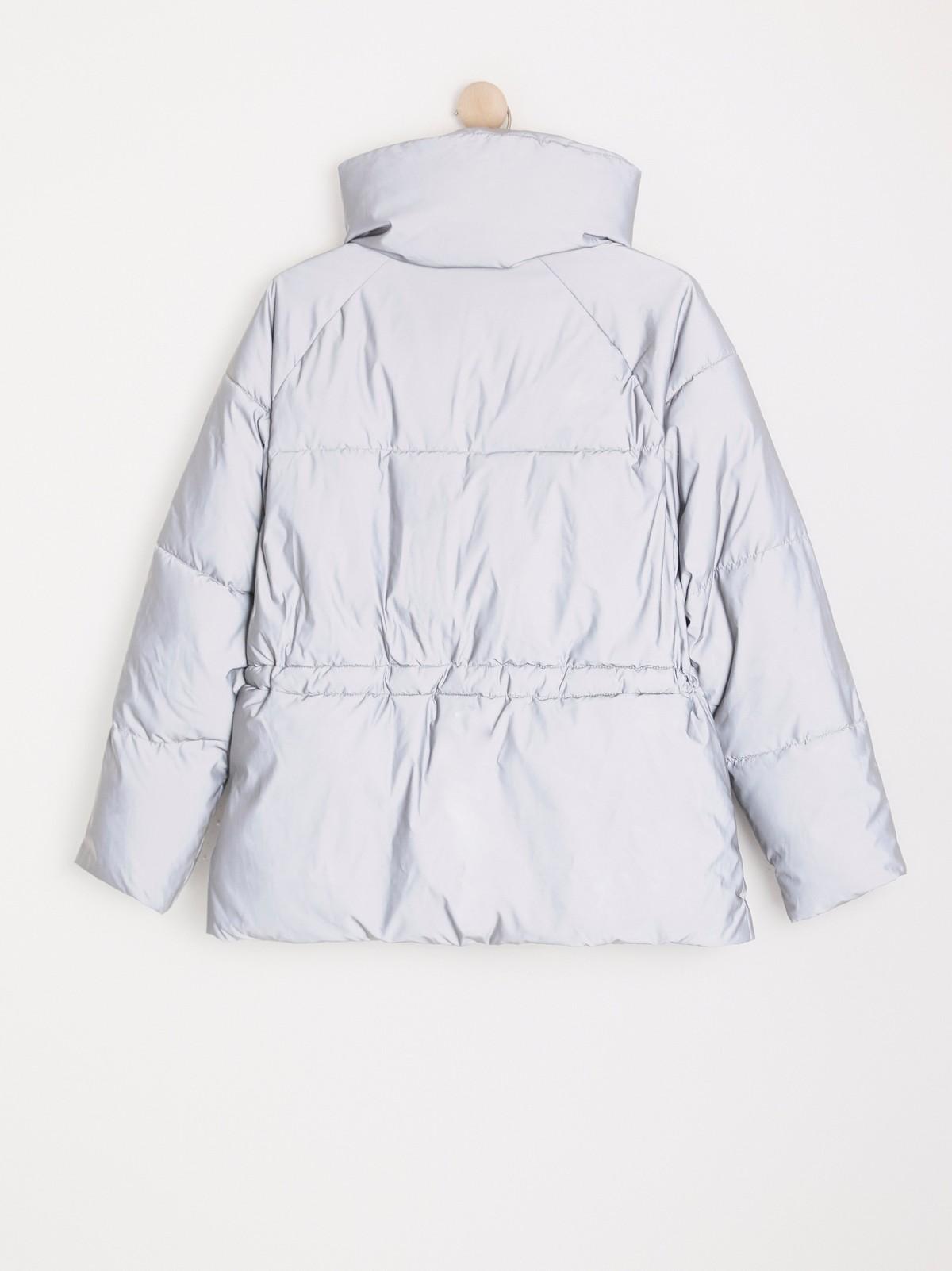 Polstret, reflekterende jakke | Lindex