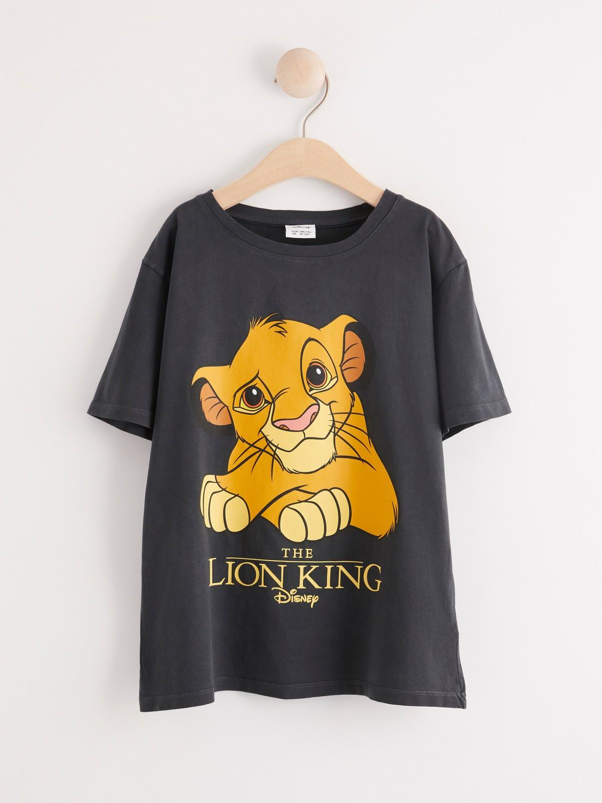 Kortärmad tröja med Disney Lejonkungen tryck