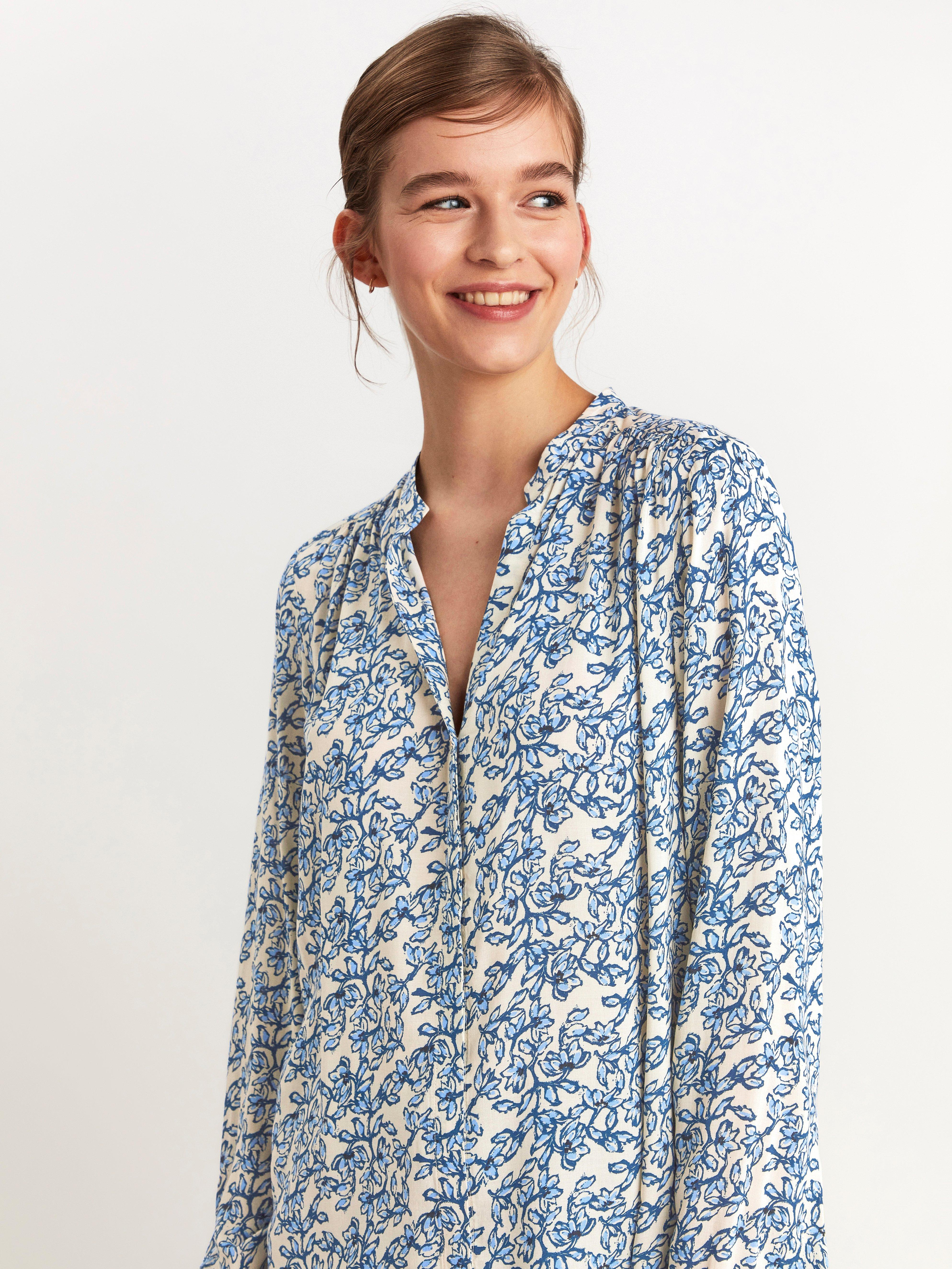 Floral Long Sleeve Tunic