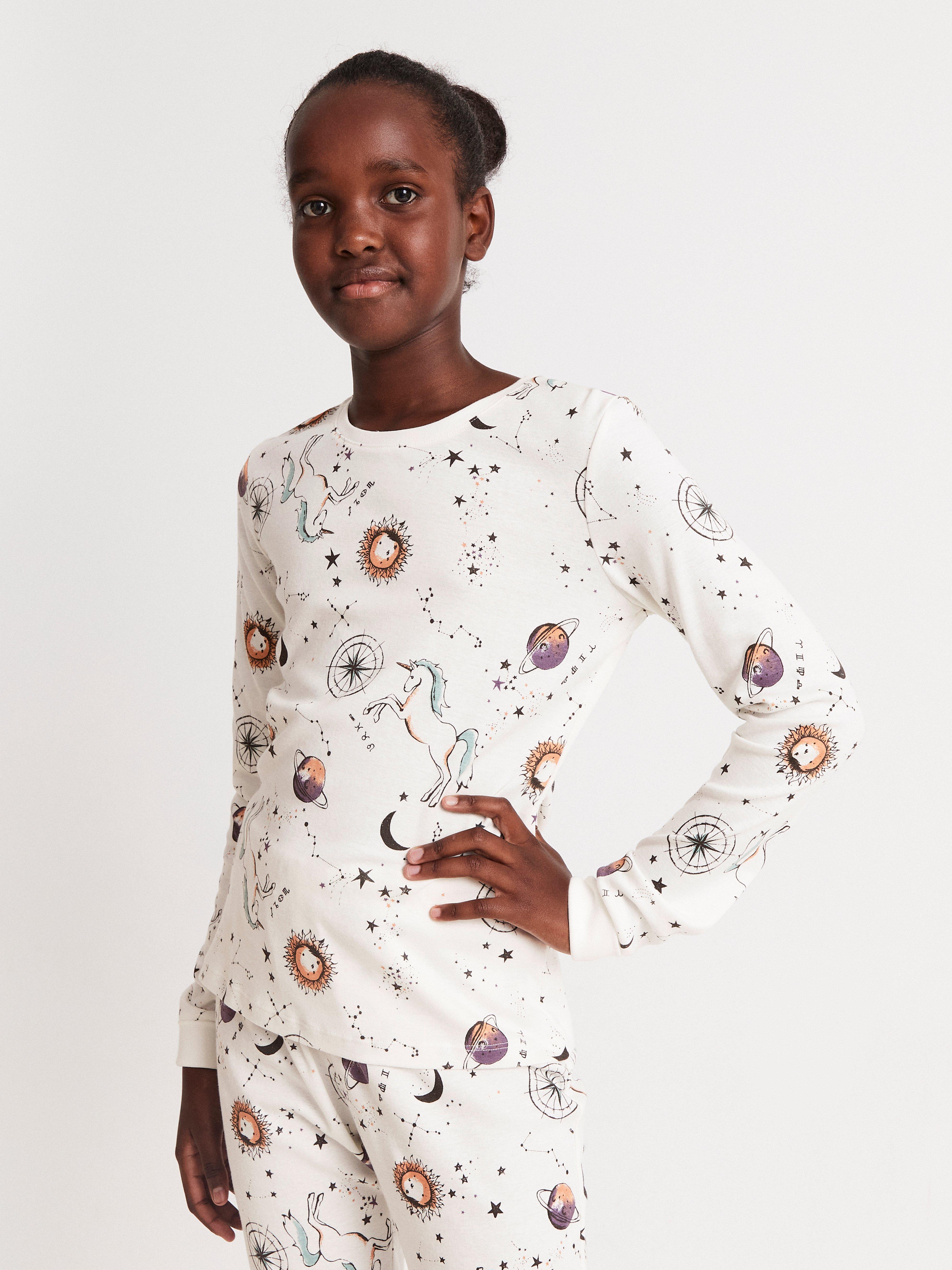 Pyjama, jossa galaksipainatus