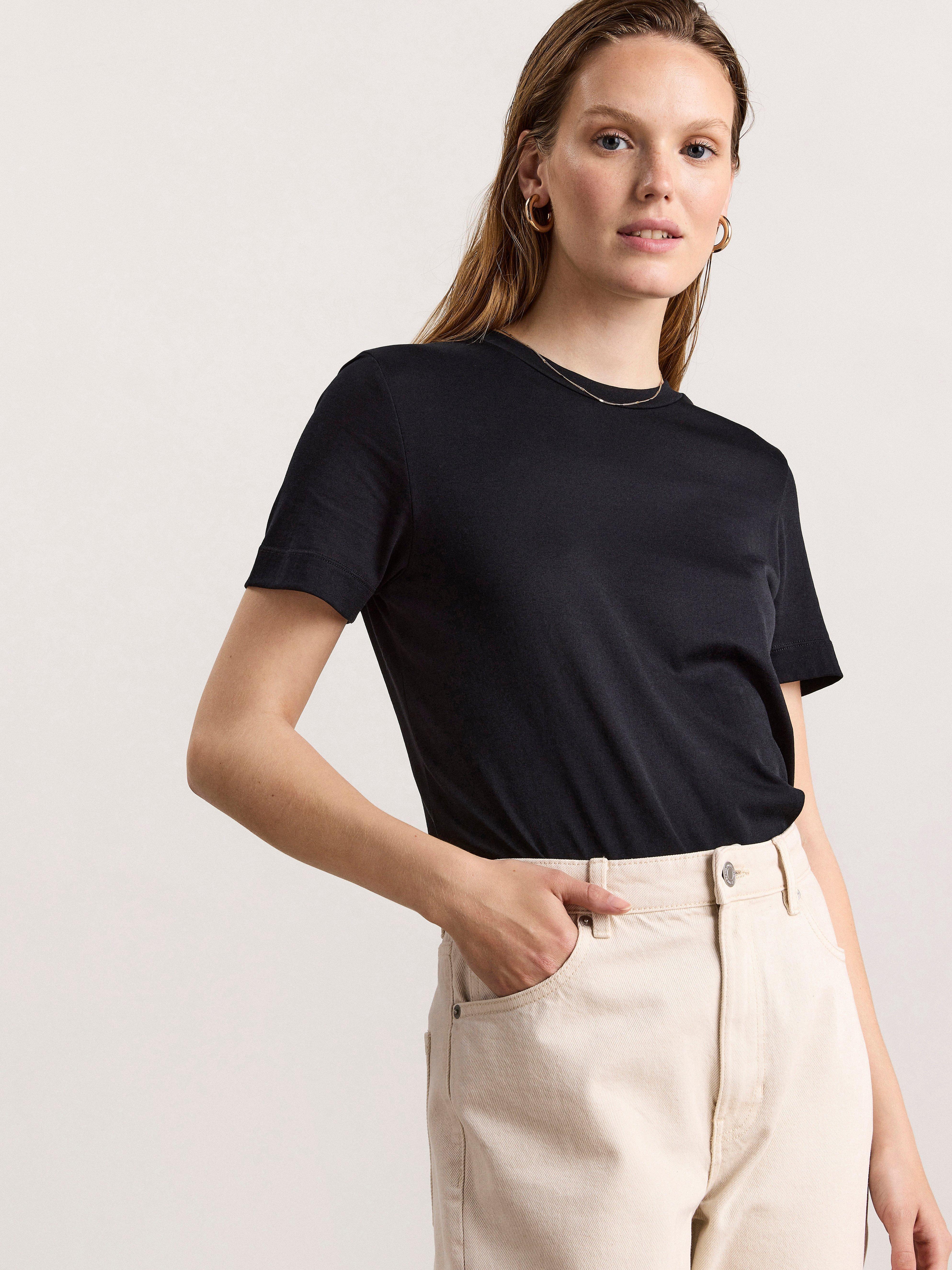 T-paita silkkisekoitteesta