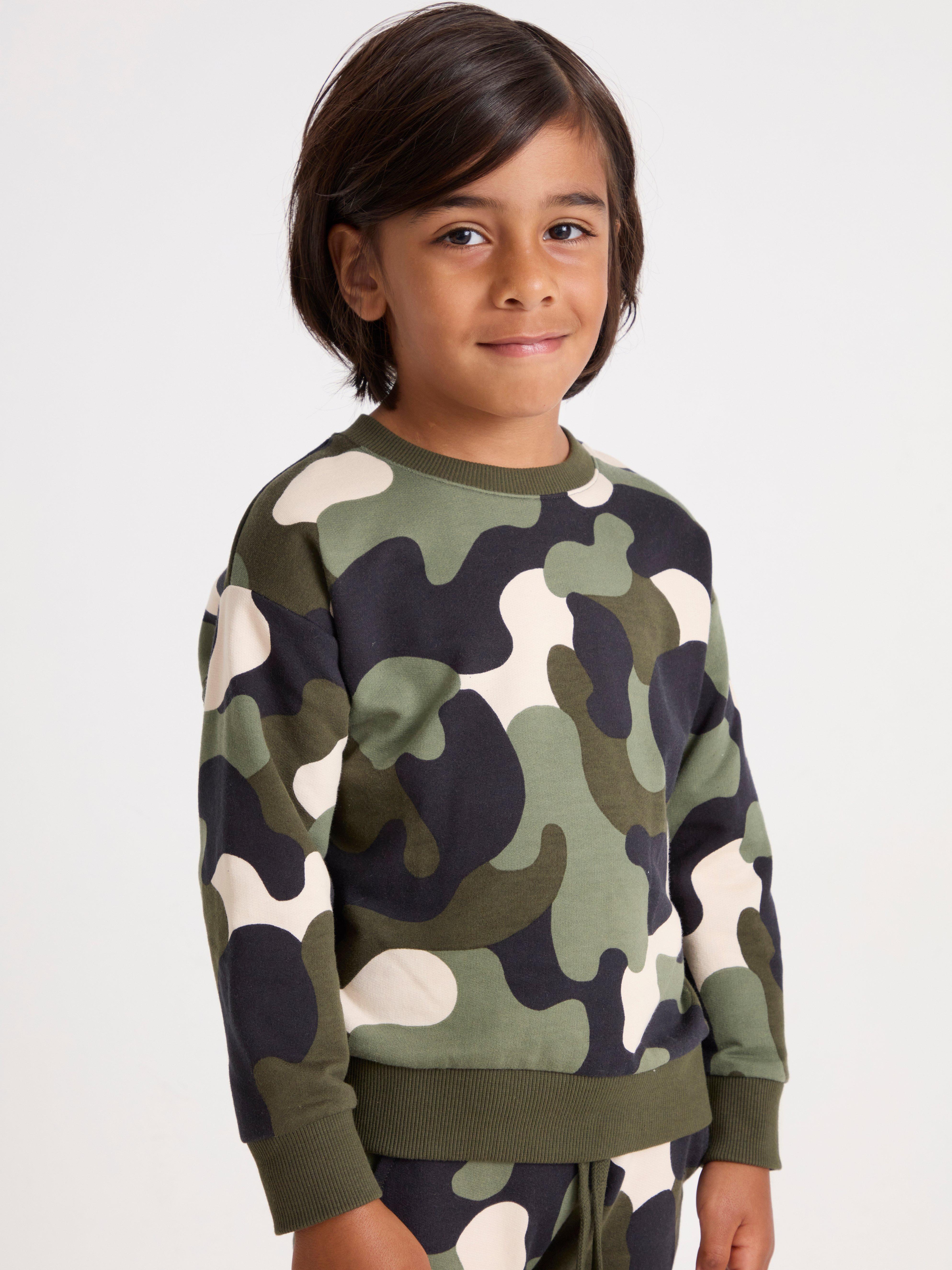 Sweatshirt med borstad insida