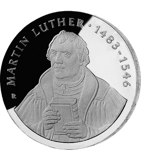 "20 Mark DDR Gedenkmünze ""500. Geburtstag Martin Luther""!"