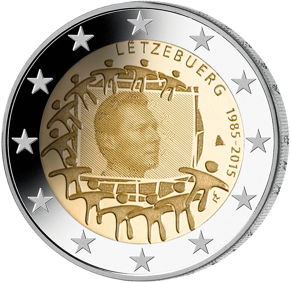 Seltene 2 € münzen
