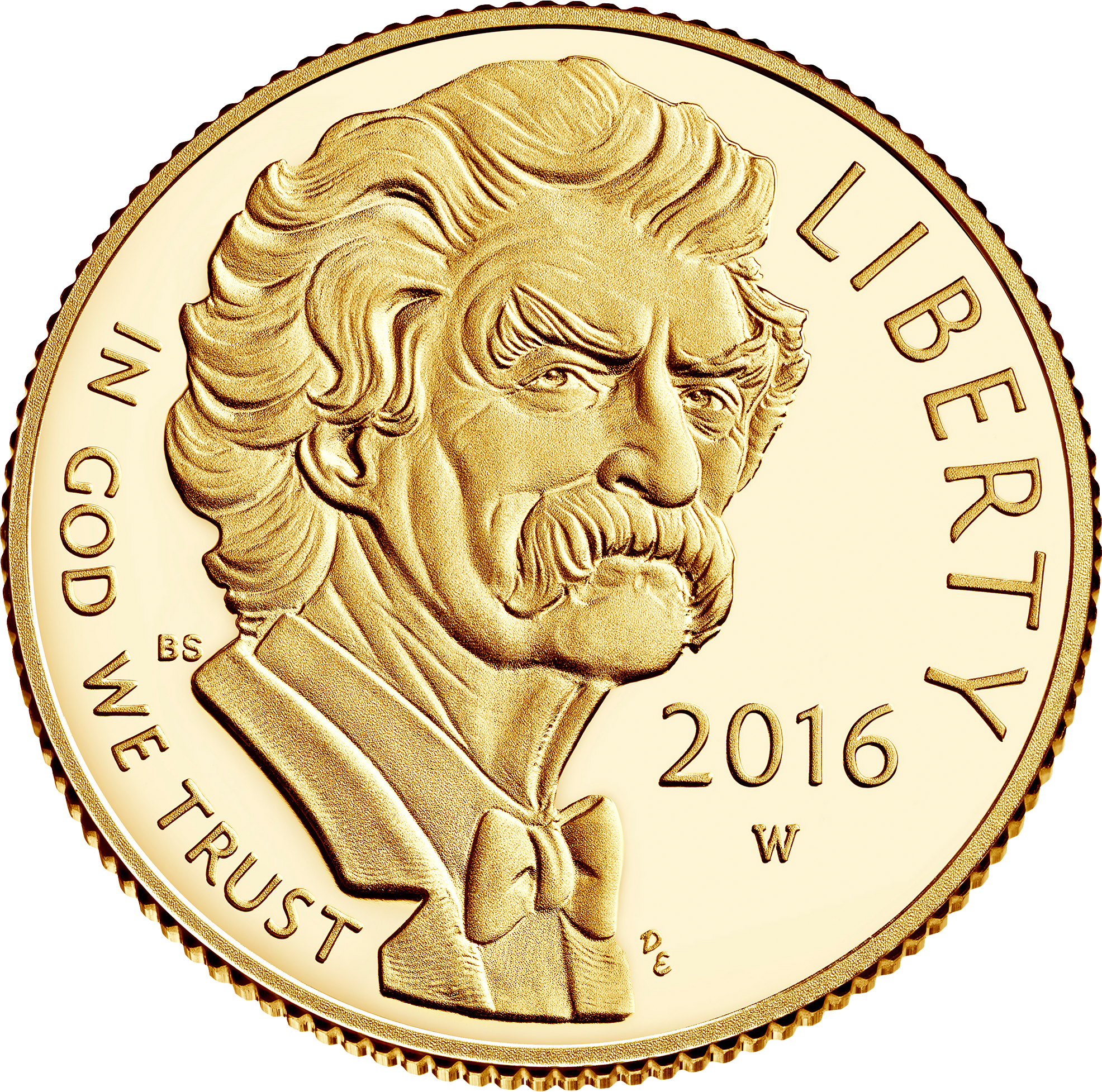 5 USD Goldmünze USA 2016 Mark Twain - Raddampfer PP
