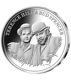 "Das exklusive 3er-Fan-Set ""Terence Hill & Bud Spencer"" in Silber und Gold!"