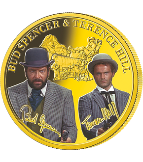 "Terence Hill & Bud Spencer GOLD-Edition – Offizielle Premium-Ausgabe ""Halleluja"""