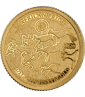 "7er Gold-Set ""African Pride 2020"""