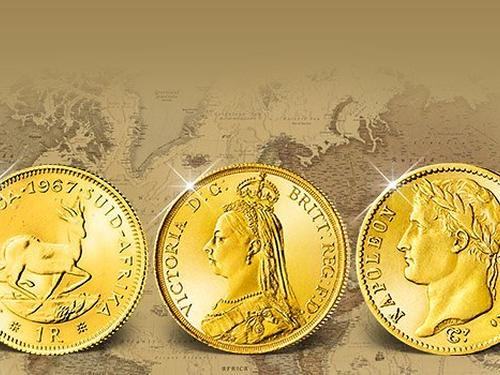 Echte historische Goldmünzen früherer Jahrhunderte!
