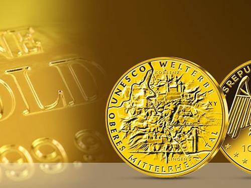 Die offiziellen deutschen 100 Euro Goldmünzen