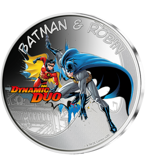 "Die offizielle Batman-Kult-Edition farbveredelter Gedenkprägungen – Start: ""Dynamic Duo""!"