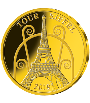 Monnaie en or « Tour Eiffel 2019 »