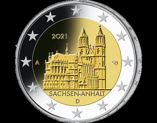 2 Euro MГјnzen 2021