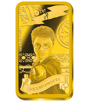 "Die ""Harry Potter""-Goldbarren-Kollektion – Ihr Start: ""Harry Potter""!"