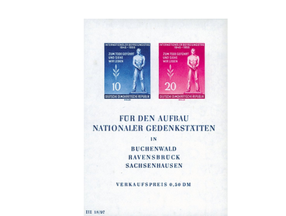 Briefmarkenblock Internationaler Tag der Befreiung vom Faschismus