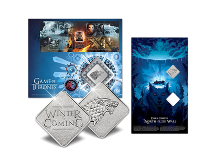 Medaillenbrief »Game of Thrones« – Stark
