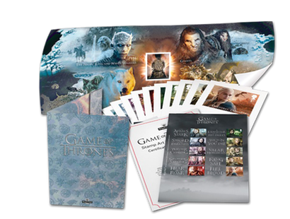 Sammel-Folder »Game of Thrones« inklusive Kleinbogen